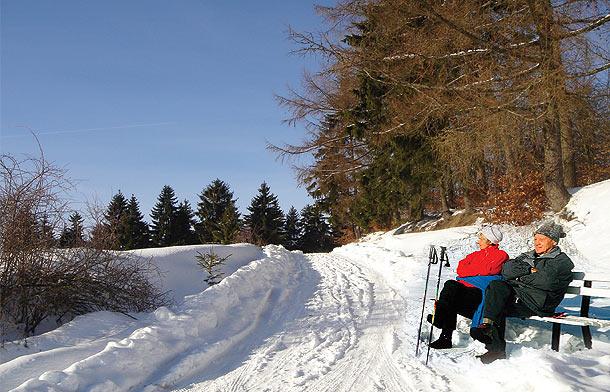 Winterwanderwege Schleusegrund